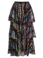 In The Mood For Love Layered Skirt - Multicolor