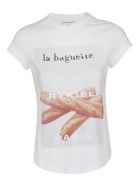 Sonia Rykiel La Baguette T-shirt - Bianco/beige