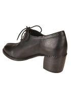 Roberto del Carlo Del Carlo Block Heel Laced-up Shoes - Old Black