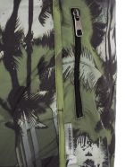 Neil Barrett Printed Track Shorts - Military Black