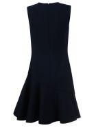 Victoria Beckham Flounce Shift Dress - Midnight