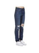 Levi's Levis 501 Cotton Jeans - DARK  BLUE