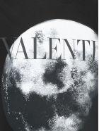 Valentino T-shrit - Nero/moondust