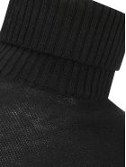 Jil Sander Turtleneck Sweater - Black
