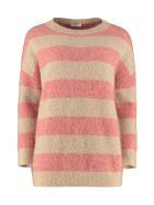 Brunello Cucinelli Wool-mohair Sweater - Beige