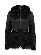 Elisabetta Franchi Celyn B. Hooded Down Jacket - black