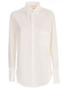 Y's Dobule Collar Shirt - White