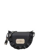 RED Valentino Mini Rock Ruffles Crossbody Bag - Nero