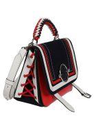J.W. Anderson Jw Anderson Lace Detail Shoulder Bag - Multicolor