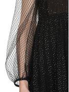 Marco de Vincenzo Lurex Pleated Dress - GlitterBlack