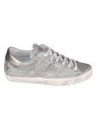 Philippe Model Paris Glitter Sneakers - Silver