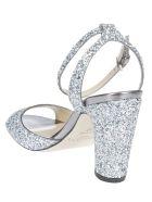 Jimmy Choo Miranda 85 Sandals - Silver