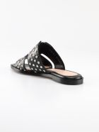 Alexander McQueen Stud Embellished Sandals - Black