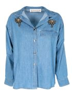 Shirt a Porter Embellished Denim Shirt
