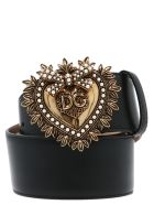 Dolce & Gabbana 'devotion' Belt - Nero
