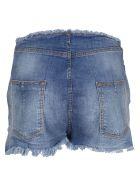 Ben Taverniti Unravel Project Unravel Stonewashed Denim Shorts - Indigo Sto