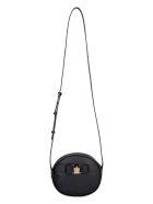 Salvatore Ferragamo Leather Mini Crossbody Bag - black