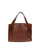 Stella McCartney Tote Bag Stella Logo - Cinnamon