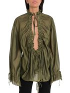 Dsquared2 Ruffled Blouse - Green