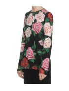 Dolce & Gabbana Roses Print Top - Multicolor