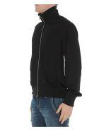 Versace Medusa Detail Zipped Sweatshirt - Black
