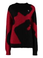 Marcelo Burlon Mohair-wool Sweater - black