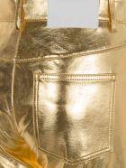 MSGM Metallic Pants - GOLD