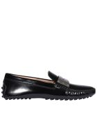 Tod's Paint Gommino Loafers - Black