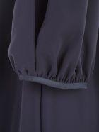 Emporio Armani Dress Short 3/4s - Blu