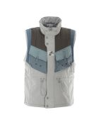 C2h4 Post Human Era Memory Supervisor Panelled Quilted Gilet - Multicolor