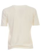 Nuur Viscose T-shirt S/s Crew Neck - Naturale