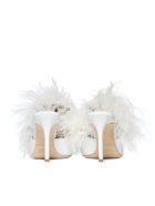 Malone Souliers Flat Shoes - White