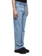 Prada Belted Jeans - Celeste