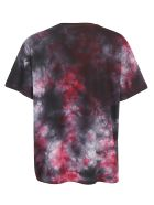 REPRESENT T-shirt - Red marble