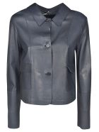 S.W.O.R.D 6.6.44 Classic Leather Jacket - Scuro