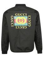 Gucci Classic Bomber - Black Multicolor Prt