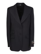 Gucci single-breasted blazer. Collar - Nero