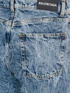 Balenciaga Acid Wash Jeans - BLUE LIGHT