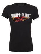 Philipp Plein T-shirt Round Neck Ss Destroyed - Black