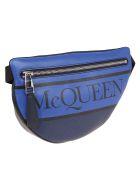 Alexander McQueen Logo Belt Bag - Cobalt Navy