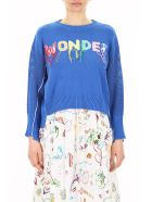 Mira Mikati Wonder Embroidery Pull - SEA BLUE (Blue)