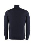Drumohr Long Sleeve Wool Turtleneck - BLU