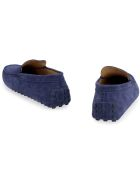 Tod's Gommino Suede Loafers - blue