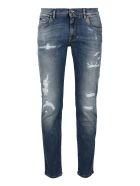 Dolce & Gabbana Slim Fit Jeans - Denim