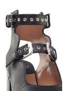 Laurence Dacade Noe Buckled Leather Sandals - Nero