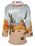 Alanui Canyon Sunrise Coat - Basic