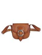 Golden Goose Brown Leather Rodeo Crossbody Bag - Brown