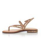 Ash Rockstud Flat Sandals - Rame