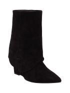 Islo 'maga' Leather Boots - Black