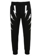 Neil Barrett Pants THUNDER BOLT TRACK PANTS